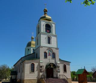 Алексеево-Дружковка. Свято-Михайловская церковь