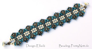 Bracelet Iris beaded by PrettyNett.de