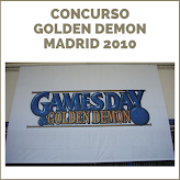 CONCURSO GOLDEN DEMON 2010 MADRID