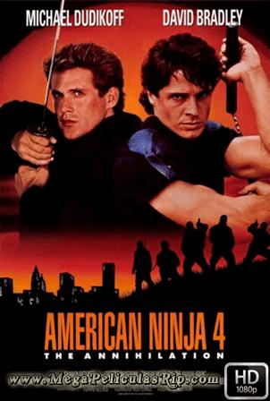 Ninja Americano 4 [1080p] [Latino-Ingles] [MEGA]