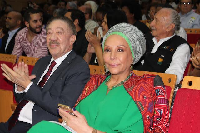 Piedad Córdoba, excandidata presidencial en Colombia y defensora de los Derechos Humanos y Héctor Díaz Polanco, presidente de la Comisión Nacional de Honestidad y Justicia (CNHJ) del partido