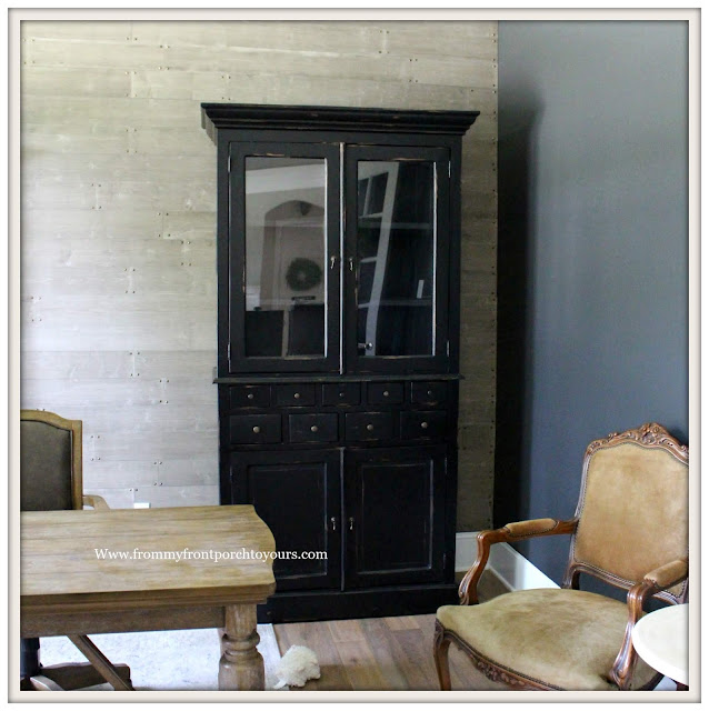 Home Office-Black Cabinet-Design Plan-DIY Office Makeover--From My Front Porch To Yours