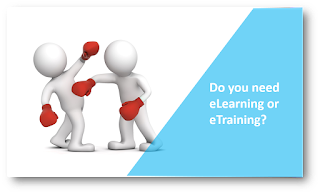 Do you need eLearning or eTraining?