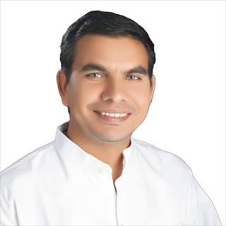 PCC sachiv pushpendra bhardwaj sanganer MLA jaipur