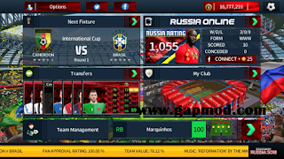 Download DLS 19 Mod FIFA World Cup Russia Apk Data Obb for Android