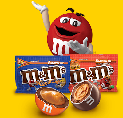 M&M'S wants you to sit back and enjoy their Caramel and Peanut Butter candy and enter to win free movie, sports or music tickets!