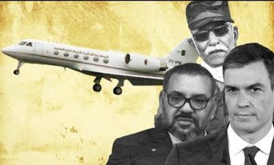 تعرف على طريقة مغادرة زعيم عصابات البوليساريو ابراهيم غالي اسبانيا تحت مراقبة المغرب وبشروطه