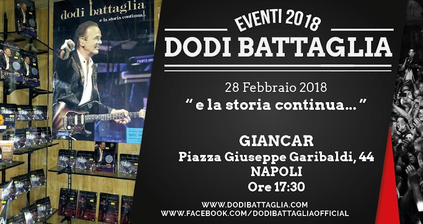 Da Giancar a Napoli è già tutto pronto per la presentazione che Dodi Battaglia