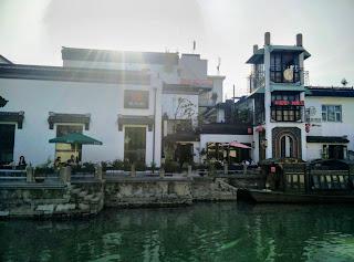 Restaurant Along Canal, Suzhou