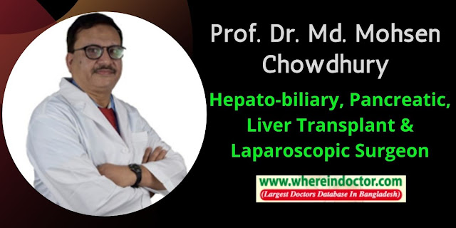 Profile of Prof. Dr. Md. Mohsen Chowdhury