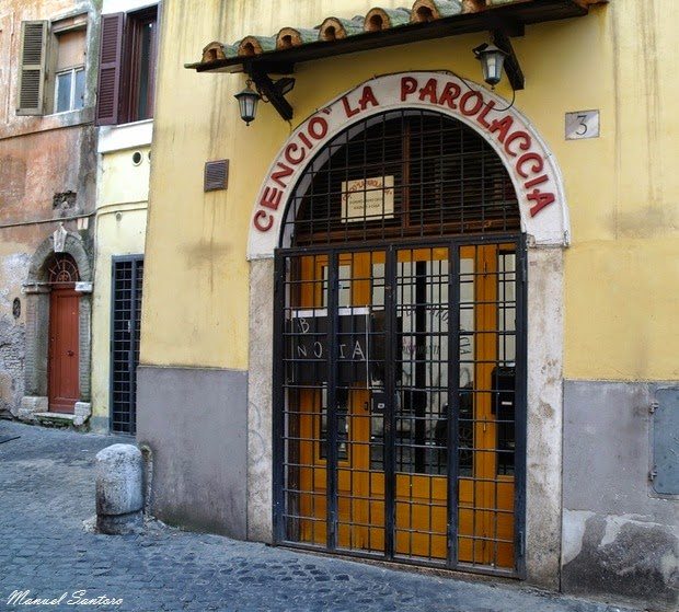 Roma, Cencio La Parolaccia