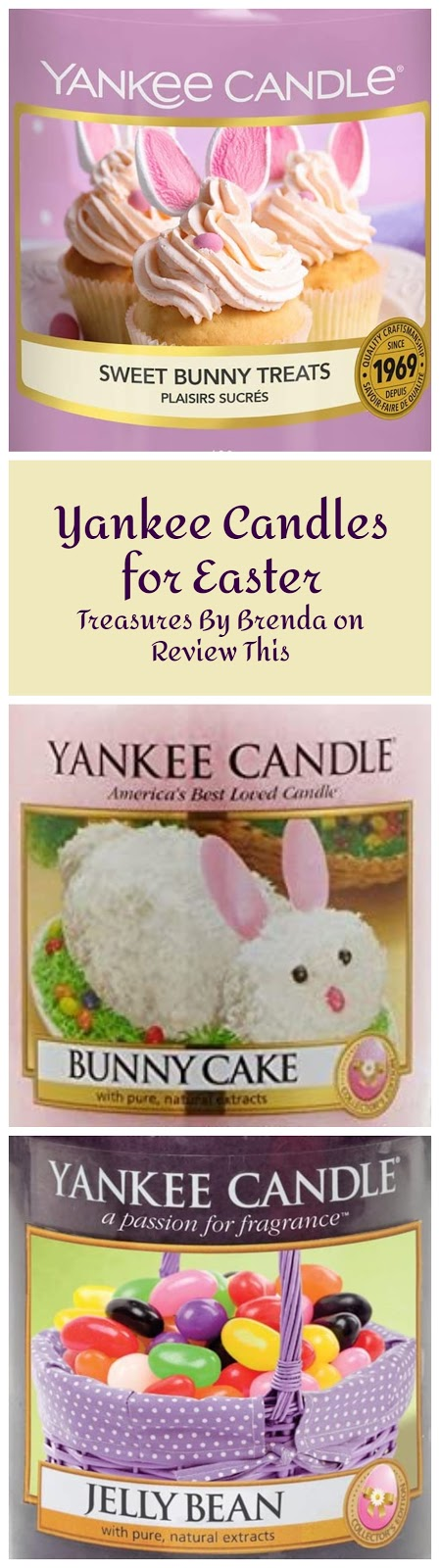Yankee Candles for Easter