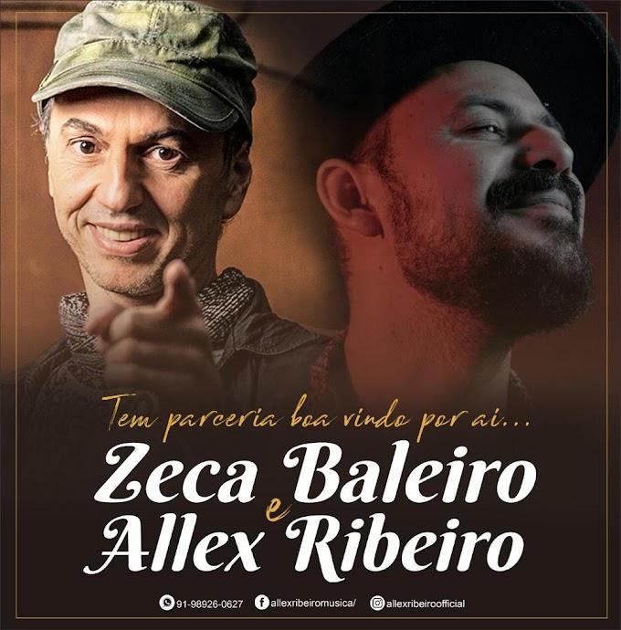 Cantor e compositor de Capanema, Allex Ribeiro,  lançará  canção  com o cantor maranhense Zeca Baleiro