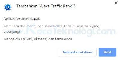 Meningkatkan ranking alexa adalah salah satu ciri bahwa situs tersebut adalah situs yang baik dan populer. Semakin tinggi ranking nya maka semakin tinggi juga kepopulerannya. Namun banyak juga situs web yang sulit mendapatkan peringkat tinggi di alexa sehingga membuat citra situs tersebut menjadi buruk lalu Bagaimana Cara Menaikkan Ranking Alexa dengan Cepat ?