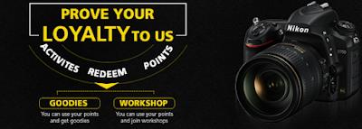 Nikon School – Refer Get Free T-shirt, Cap, Ring Etch