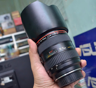 Lensa Canon 28-70mm f2.8L Bekas