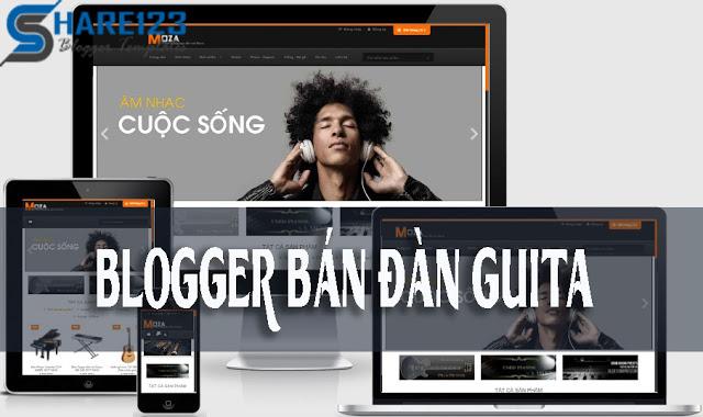 Moza template blogspot bán hàng Chuyên Nghiệp (NEW)