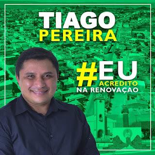 Veja para hoje como fica a agenda do candidato a vereador Tiago Pereira