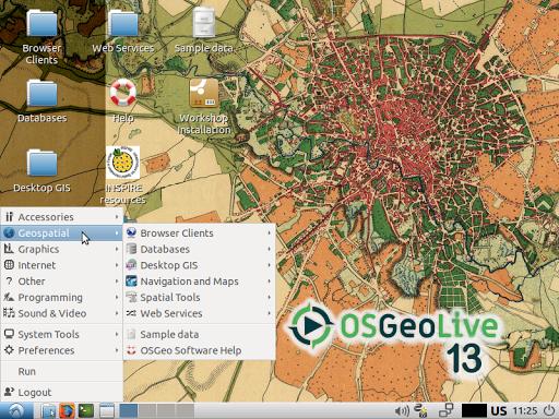 OSGeoLive, Distro Linux Khusus Geospasial [SOTWARE]