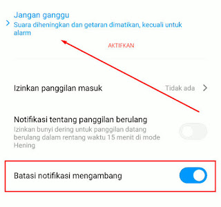 Cara Menghilangkan Notifikasi Mengambang Di Atas Layar Saat Bermain Game HP