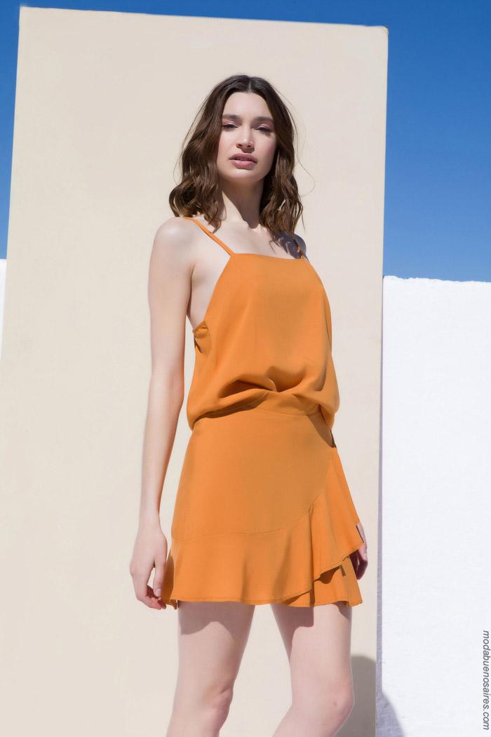 minifaldas de fiesta de moda primavera verano 2020