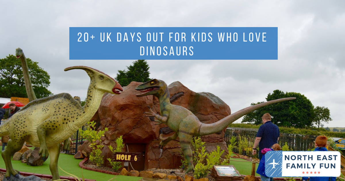 20+ UK Days Out for Kids who Love Dinosaurs