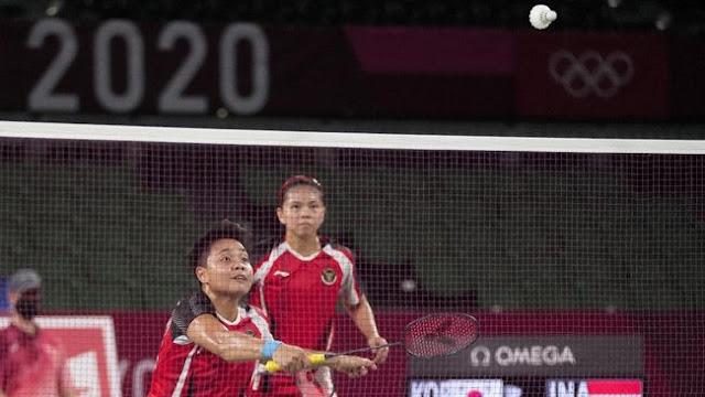 Ganda Putri Indonesia Greysia Polii/Apriyani Rahayu Lolos ke Final Olimpiade Tokyo