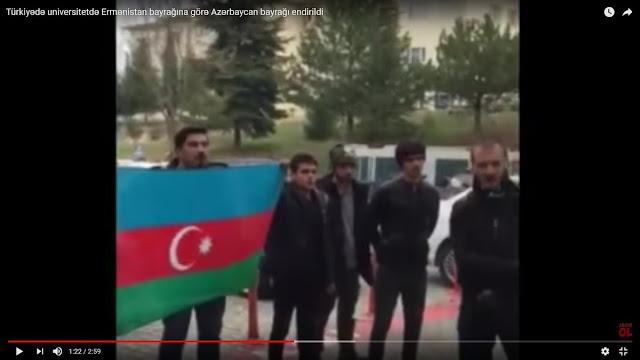 niversidad turca retira bandera de Azerbaiyán por robo la de Armenia
