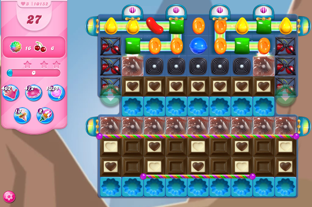 Candy Crush Saga level 10152