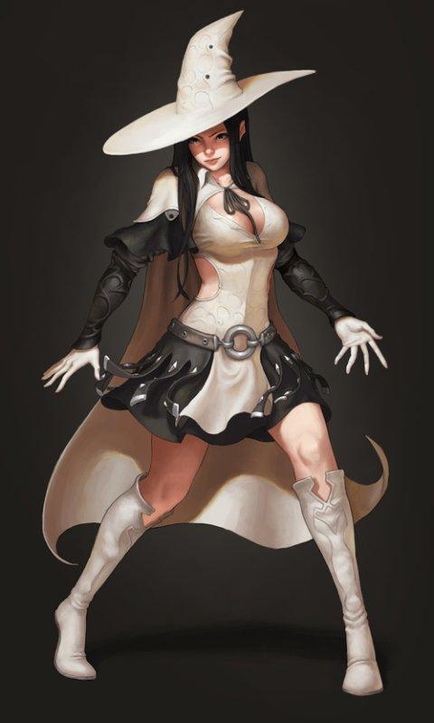 SoonYoung Choi SYAR tumblr deviantart ilustrações fantasia ficção científica rpg medieval mulheres