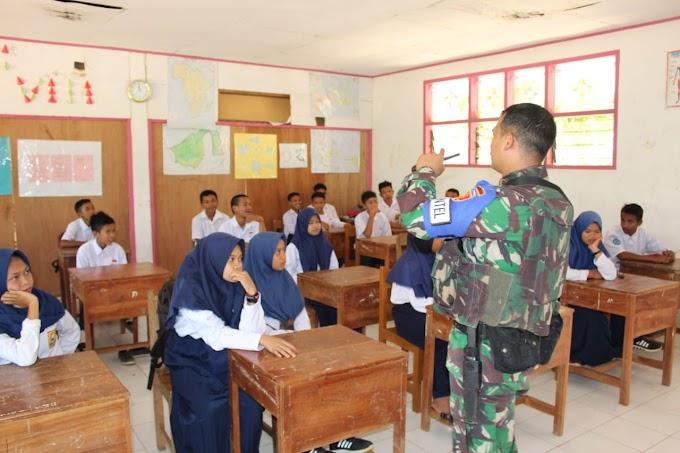 Personel Yonif Para Raider 433/JS Laksanakan Kegiatan Mengajar di Daerah Latihan Pratugas