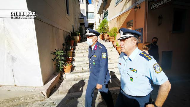 Δήμος Ναυπλιέων: Ευχαριστίες προς την Αστυνομική Διεύθυνση Αργολίδας για τον άρτιο επιχειρησιακό σχεδιασμό