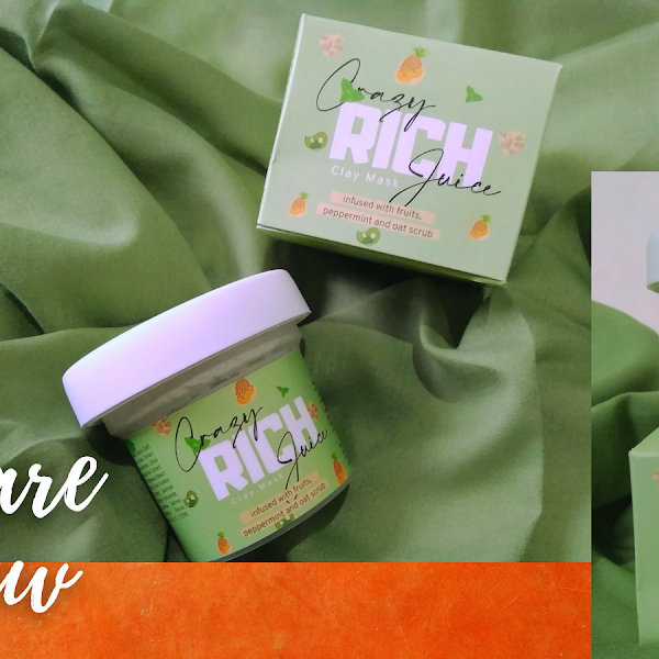 Skincare Review: Crazy Rich Juice Clay Mask By Kouru Beauty