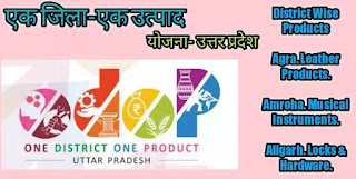 एक जिला एक उत्पाद सूची 2021 | One District One Product List 2021