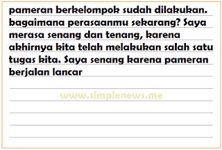 pengalamanmu melaksanakan tugas sesuai peranmu www.simplenews.me