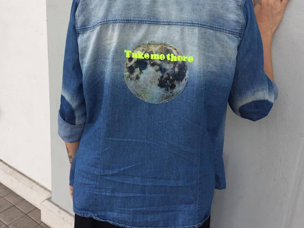 Refashion Tag: Moon Shirt