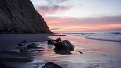 HD wallpaper morning beach view