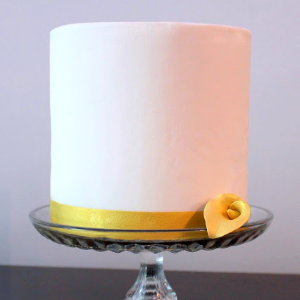 gilded lily cake tutorial