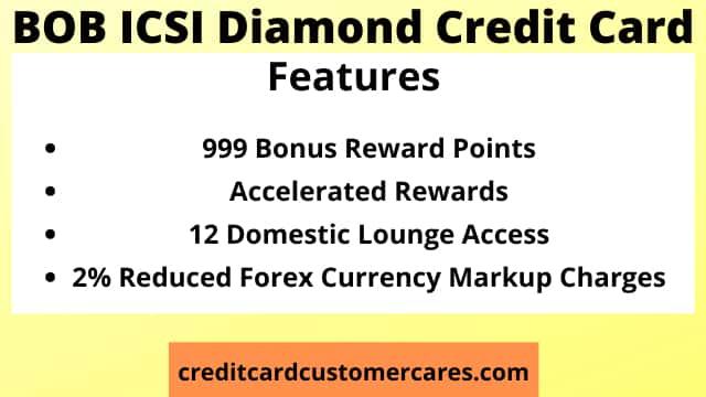 BOB ICSI Diamond Credit Card