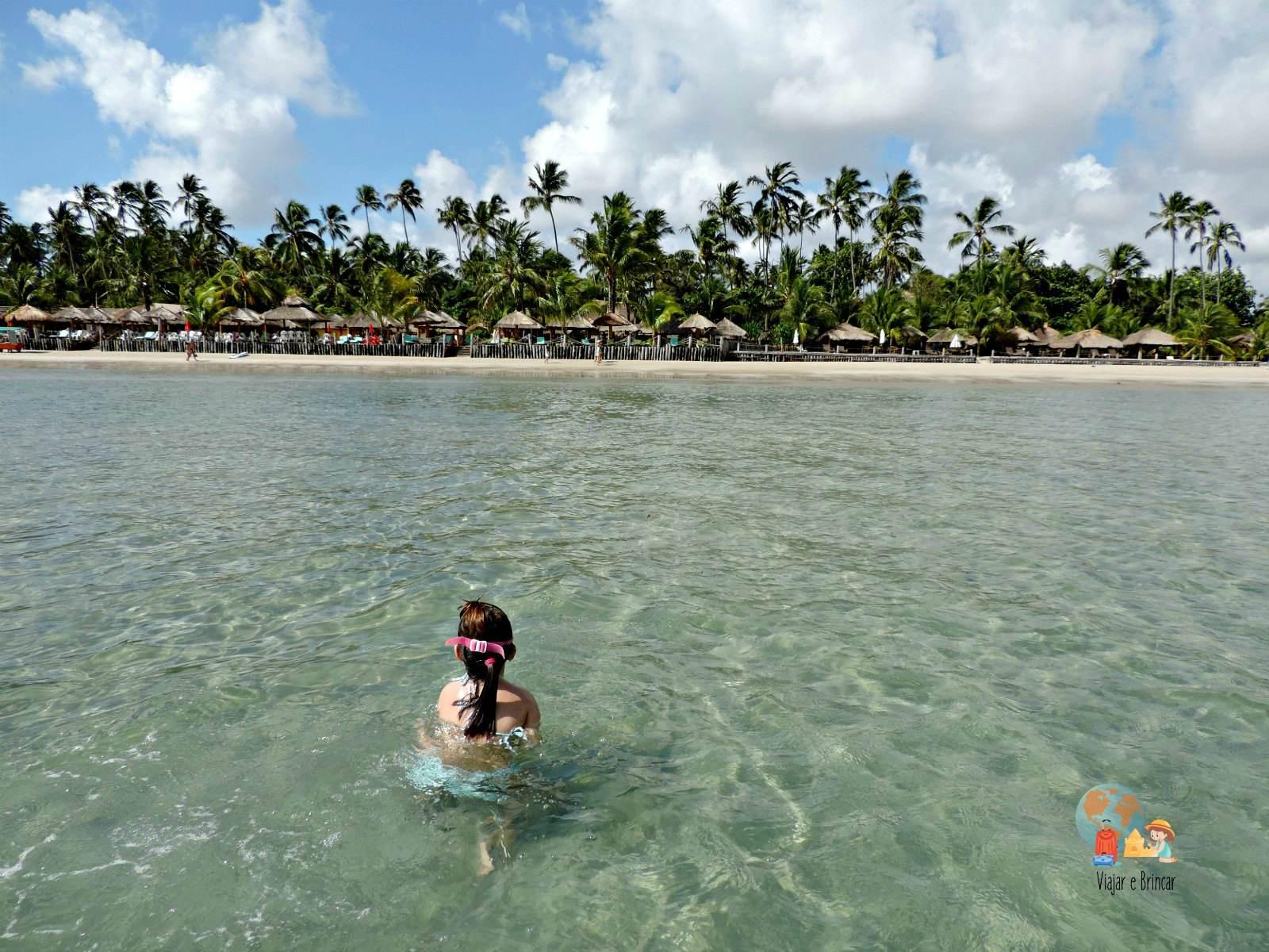 Praia dos Carneiros em Pernambuco, em frente a nossa pousada