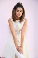 Taapsee Pannu in cream Sleeveless Kurti and Leggings at interview about Anando hma ~  Exclusive Celebrities Galleries 059.JPG
