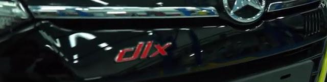 embel DLX khusus untuk type mobil ayla tipe R Deluxe