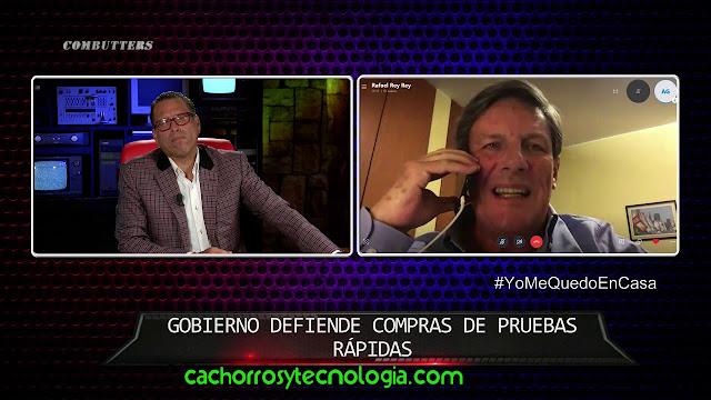willax phillip butters Rafael Rey Vizcarra covid-19 CACHORROS TECNOLOGIA 2020 marzo