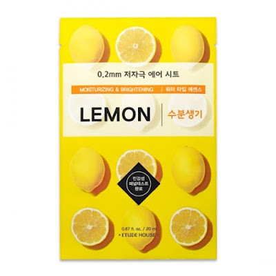 Etude House Therapy Air Mask (lemon)