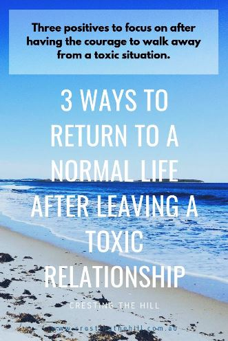 3 ways to learn from and then recover from those times when you've been through a difficult situation or relationship. #relationships #midlife #recovery