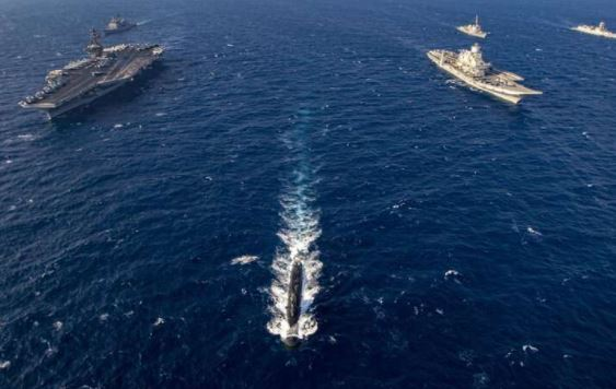 India and America did joint naval exercises