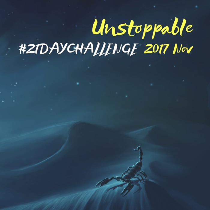 21Day Challenge Nov 2017
