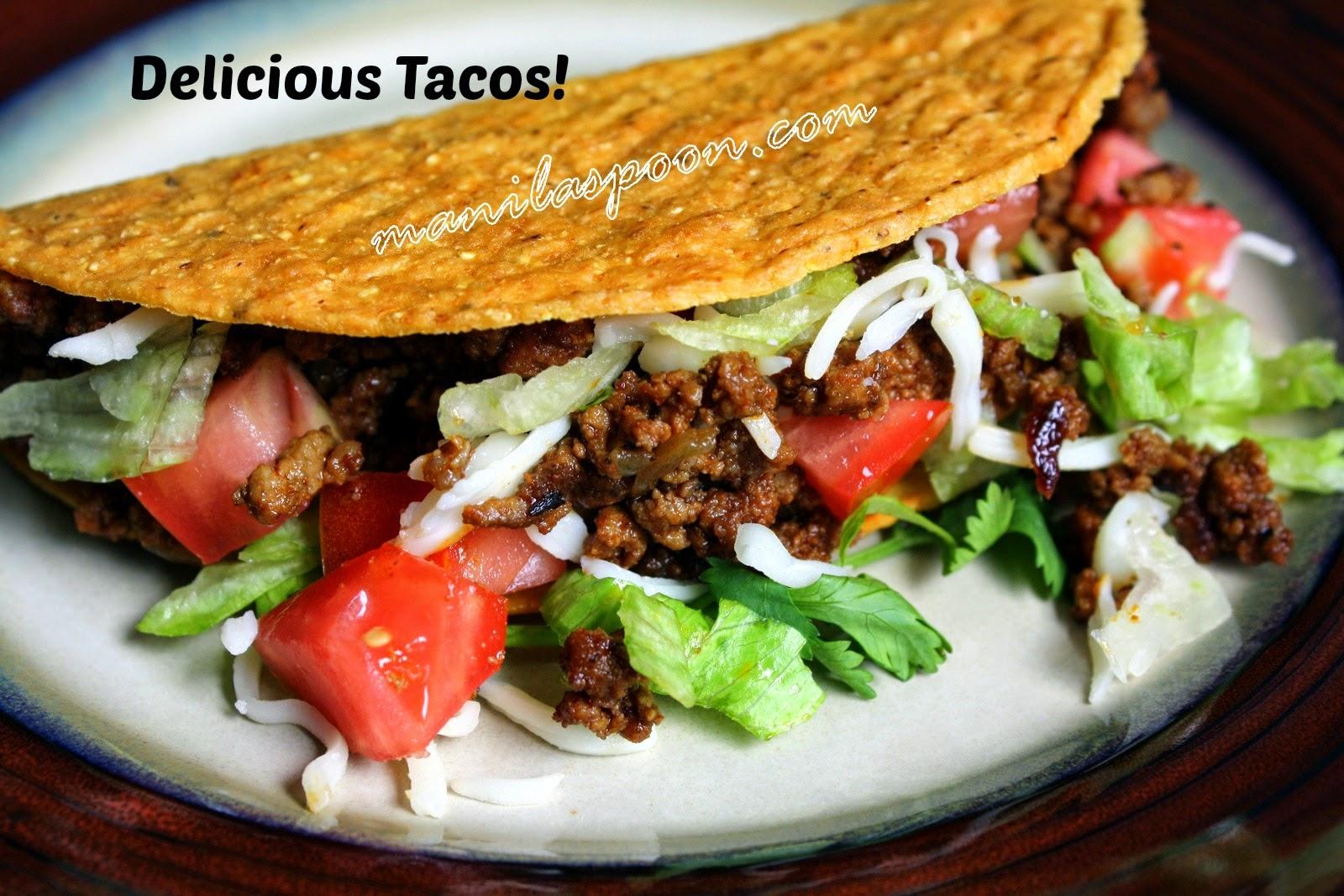 Delicious Ground Beef Tacos