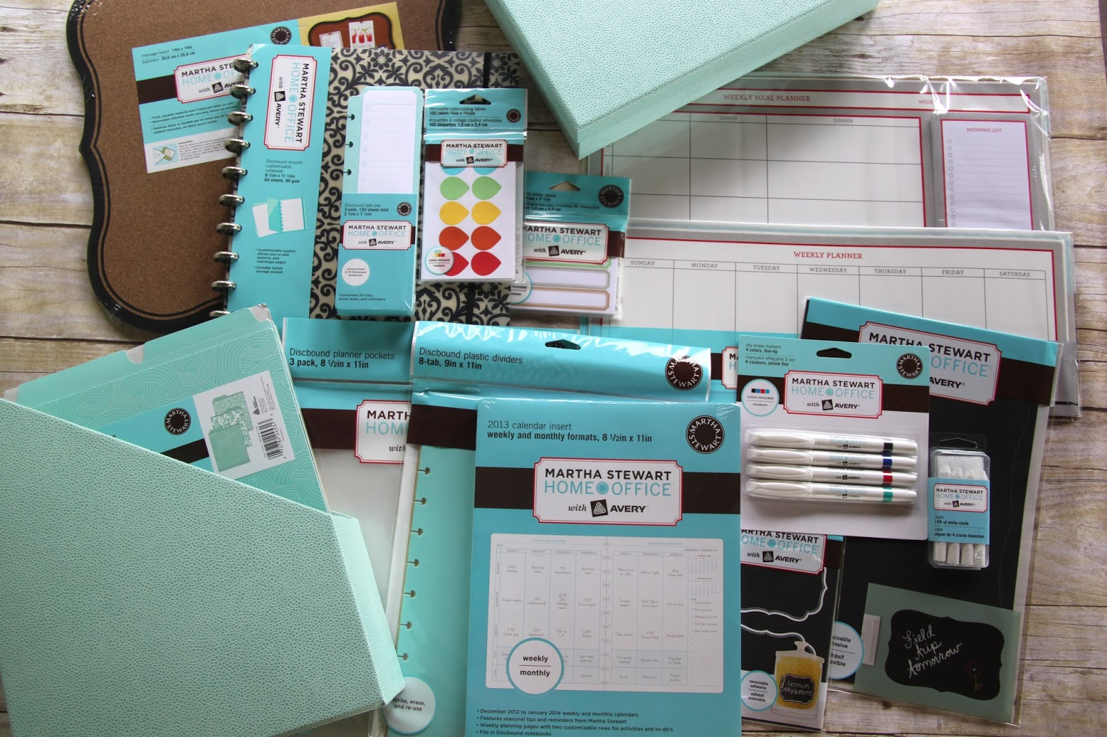 Back to school organization with martha stewart home office with avery plus giveaway - Back to school organization ...
