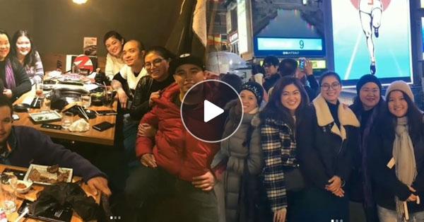 DAY 3: Angel Locsin's Team Wandered In Osaka, Japan!
